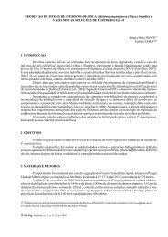 PRODUÇÃO DE MUDAS DE IPÊ-ROXO-DE-BOLA - Instituto Florestal