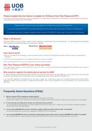 Frequently Asked Questions (FAQs) - United Overseas Bank Malaysia