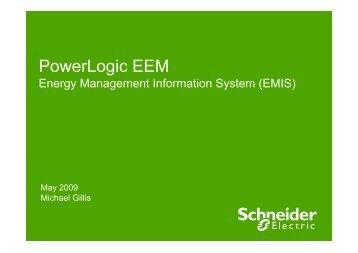 PowerLogic EEM - Energy Management Information System (EMIS)