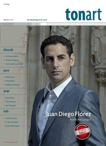 Juan Diego Flórez - Tonart-Magazin