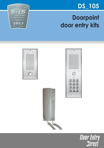 Srs Dc60ss Stand Alone Keypad Door Entry Direct