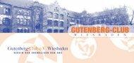 GUTENBERG-CLUB - Gutenbergschule Wiesbaden
