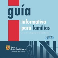 Prevención de drogodependencias, guía informativa para ... - Mallorca