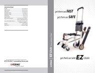 Evacuation Chair - Ferno