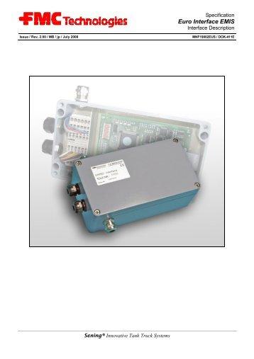 EMIS Interface Description - Measurement Solutions