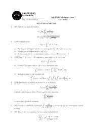examen final - Universidad de Murcia