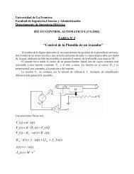 Tarea 3 - Departamento de Ingeniería Eléctrica - Universidad de La ...