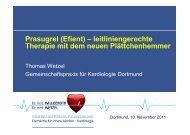 leitliniengerechte Therapie mit dem neuen ... - Ww-kardio-do.de