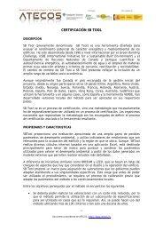 Certificado SB Tool - Miliarium