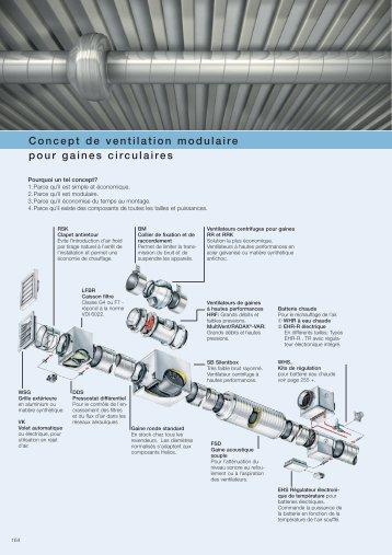 Concept de ventilation modulaire pour gaines circulaires - HELIOS ...