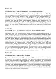 Problem 1(a) Discuss briefly, what is meant by the hypothesis of ...