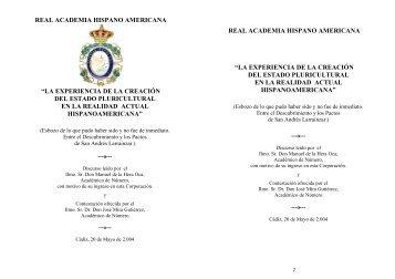 Discurso de ingreso del Ilmo. Sr. D. Manuel de la Hera Oca, titulado