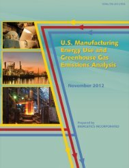 US Manufacturing Energy Use and Greenhouse Gas ... - Wiki.ornl.gov