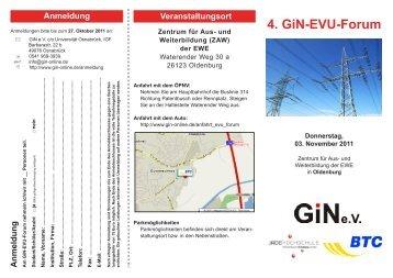 4. GiN-EVU-Forum - IAPG - Jade Hochschule