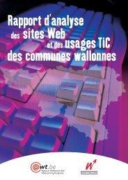 Rapport d'analyse des sites web et des usages TIC des communes ...