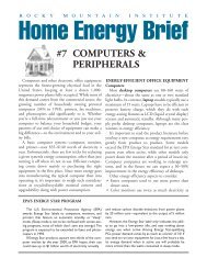 Home Energy Brief—Computers & Peripherals - library