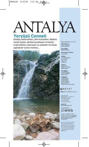 Tatil Rehberi Antalya