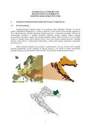 informacija o prometnoj povezanosti na području osječko-baranjske ...