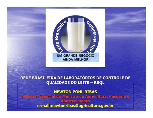 REDE BRASILEIRA DE LABORATÓRIOS DE ... - CRMV-PR