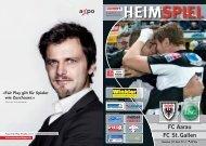 Saison 2009/2010 - Ausgabe 16: FC Aarau - FC St. Gallen
