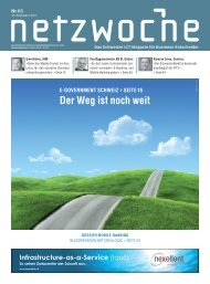 E-Government Schweiz - Der Weg ist noch weit - eZürich