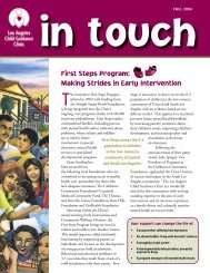 First Steps Program: Making Strides in Early Intervention