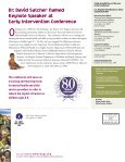 First Steps Program: Making Strides in Early Intervention - Page 6