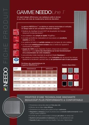 Plaquette commerciale NEEDO - Lacentrale-eco.com