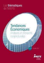 Tendances économiques N°43 - IWEPS