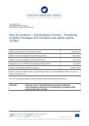 Note for Guidance - Eudravigilance Human - Eudravigilance - Europa