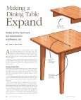 Extension Dining Table - Page 2