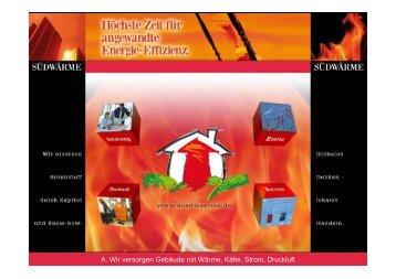 Südwärme 2. Gz-Energie-Fachforum