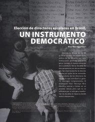 Elección de directores escolares en Brasil. Un ... - Revista Docencia