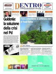 Guidonia: la soluzione della crisi nel Pd - La Voce del Nord Est ...