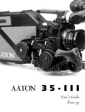 Aaton 35 - Panavision