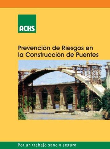 Prevención de riesgos en la construcción de puentes - Sigweb