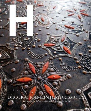 H. Diseño e Interiorismo. Los proyectos hoteleros ... - Jorge Palacios