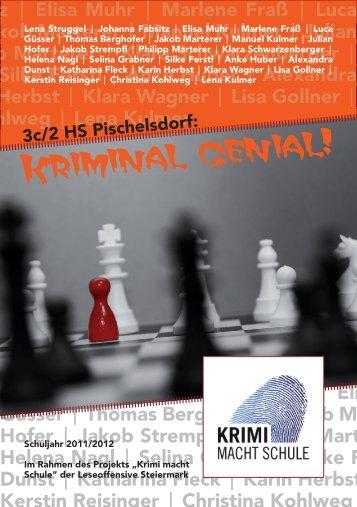 kriminal genial - Leseoffensive Steiermark