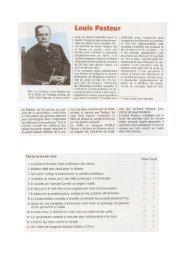 Fils d'un tanneur, Louis Pasteur est né à Dôle, en Franche—Comté ...