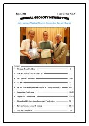 June 2011 e-Newsletter No. 3