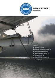 September 2013 Newsletter - The Boat Owners' Association of NSW