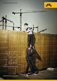 ALPINE Geschäftsbericht 2011 - ALPINE Bau GmbH