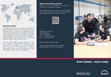 Flyer Duales Studium Rev1_2013.indd - Mein duales Studium