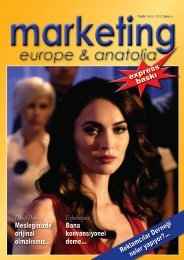 marketing europe & anatolia