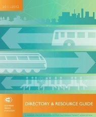 2011-12 Membership Directory FINAL.pdf - California Transit ...