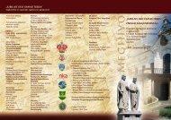 Részletes program - Magyar Katolikus Egyház