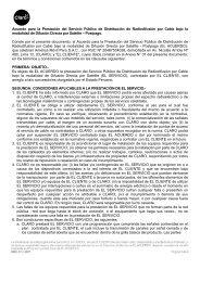 Acuerdo para la Prestación del Servicio Público de ... - Claro