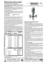 Übersicht 3000 (pdf 1.6 MB) - ARMATURENBAU GmbH und ...