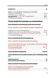 Viertes Kapitel: Leistungen an Arbeitnehmer