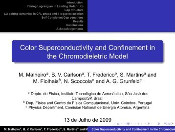Color Superconductivity and Confinement in the Chromodieletric ...